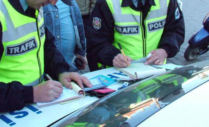 Trabzon'da sürücülere ceza yağdı