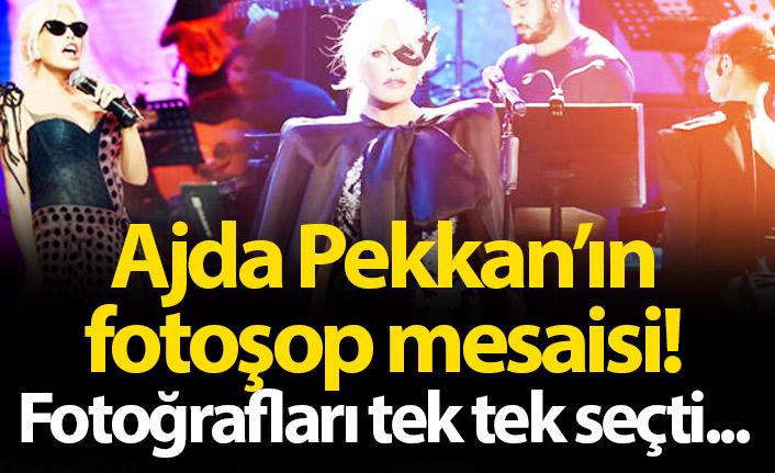 Ajda Pekkan'ın fotoşop mesaisi!