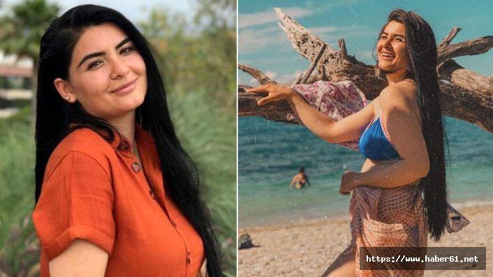 Gelin adayı Hanife'den bikinili poz