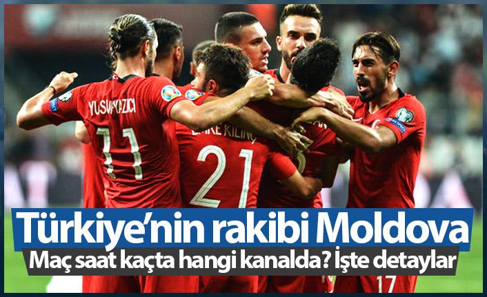 Moldova Türkiye maçı saat kaçta hangi kanalda?