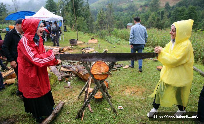 Rize'de doğal festival ilgi gördü
