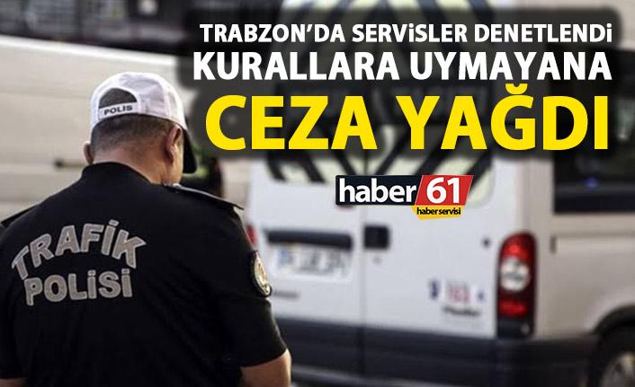 Trabzon'da okul servisleri denetlendi