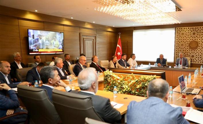 20 belediye başkanı Ordu için toplandı
