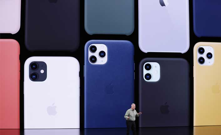 Apple, iPhone 11 serisini tanıttı