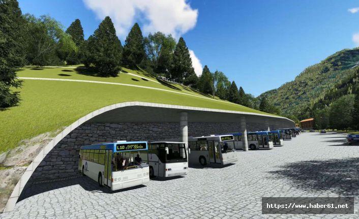 Ayder'de kentsel dönüşüm otel ve otoparkla başlıyor