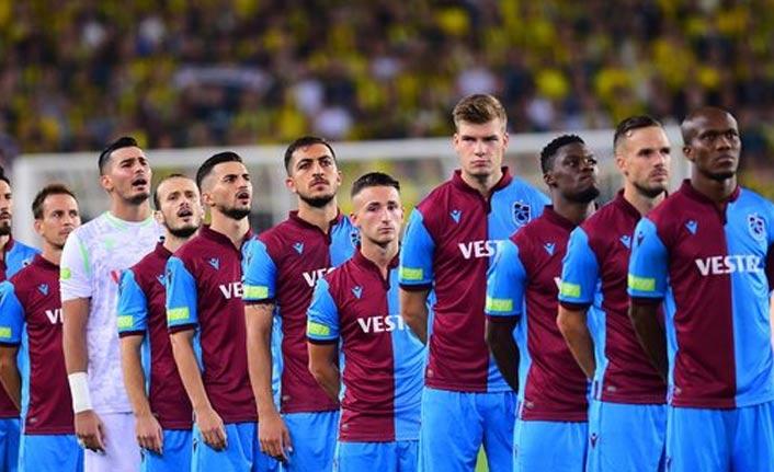 Trabzonspor kadrosu açıklandı