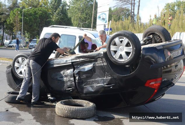 Ordu'da trafik kazası