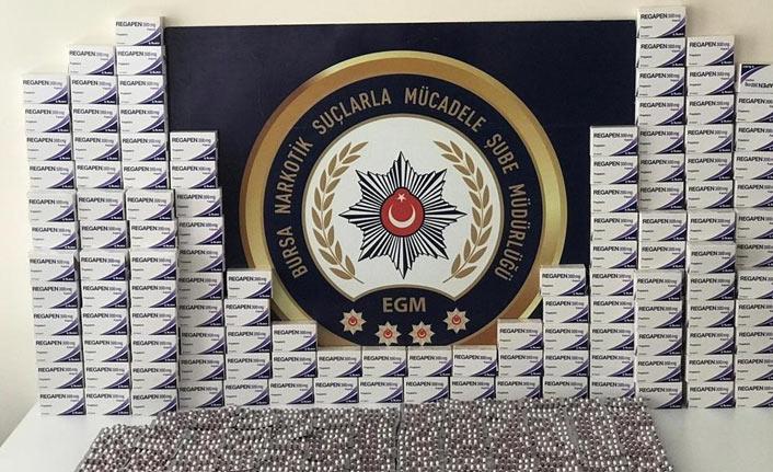 Bursa merkezli 5 ilde narkotik operasyonu