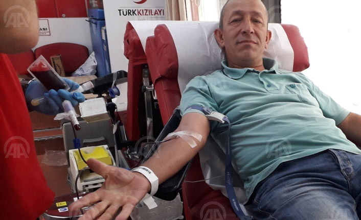 Doğankent'te kan bağışı kampanyası başladı