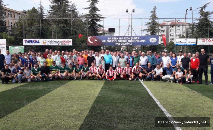 Trabzon'da bankacılar futbol turnuvasında buluştu