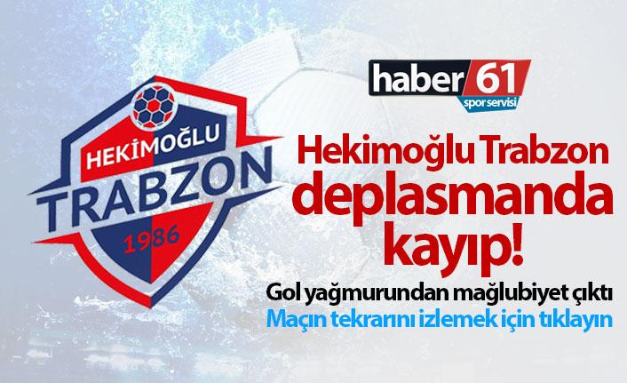 Hekimoğlu Trabzon, Manisa'ya yenildi