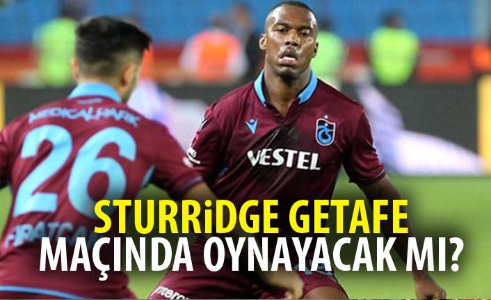 Sturridge Getafe maçında oynayacak mı?
