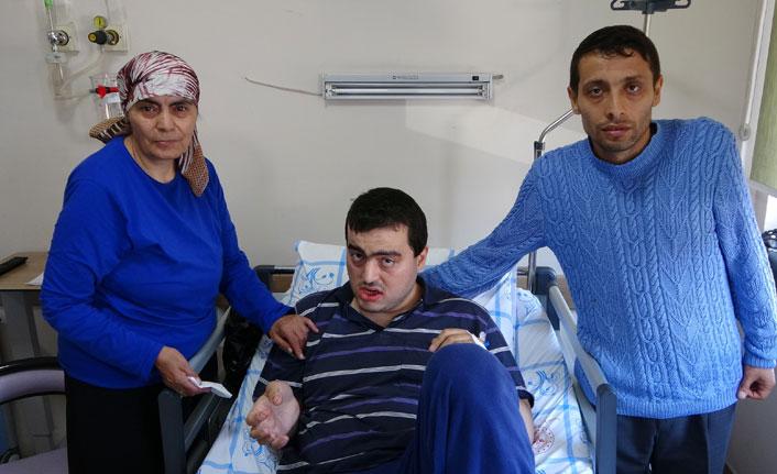 3 aydır çektiği ağrıdan Trabzon'da kurtuldu