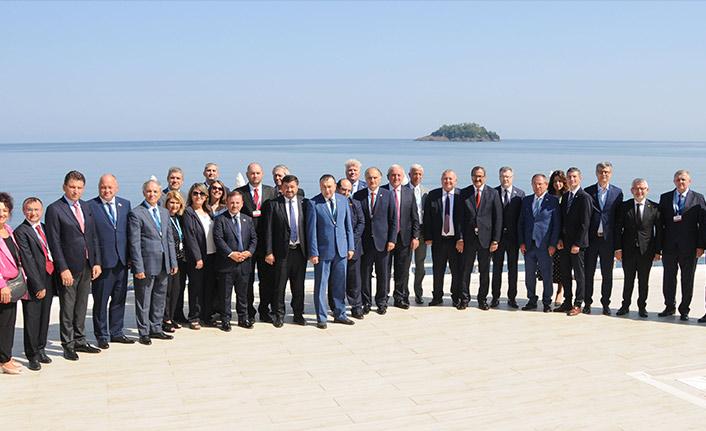 KEİPA üye ülke temsilcileri Giresun'da toplandı