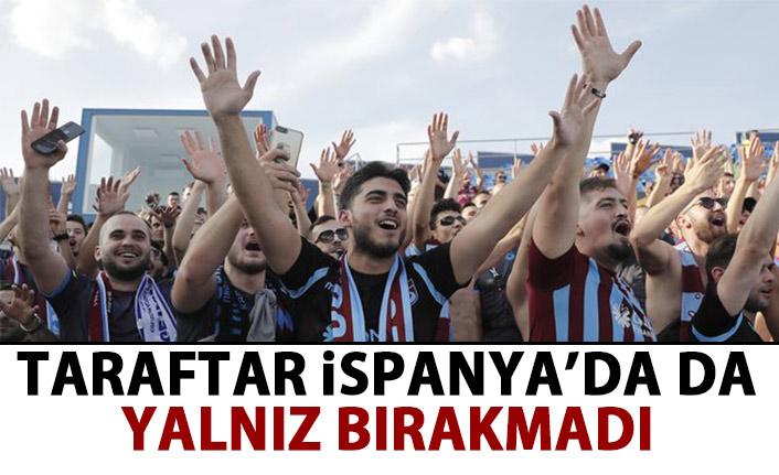 Taraftar Trabzonspor'u yalnız bırakmadı!