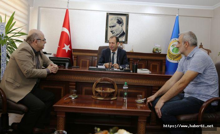 Trabzonspor Artvin futbol Okulundan Orman Bölge Müdürüne ziyaret