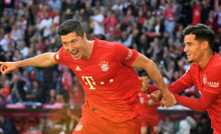 Bayern Münih, Köln'ü farklı geçti