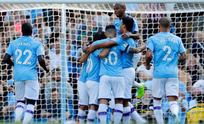 Manchester City, tek golle rekoru kaçırdı
