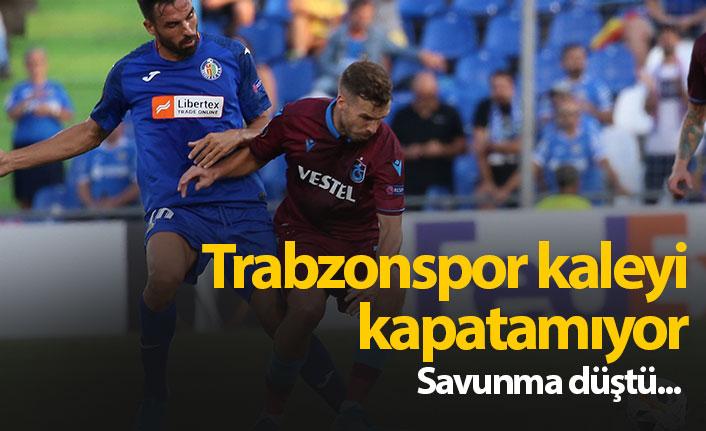 Trabzonspor kaleyi kapatamadı