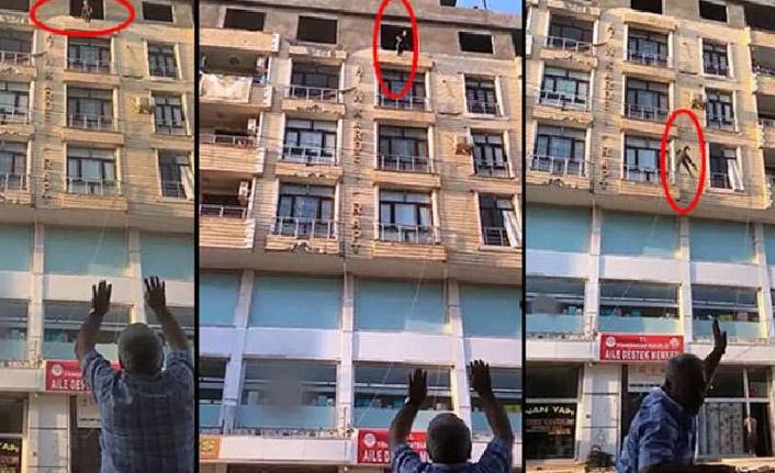 Şanlıurfa'da genç kız 6'ncı kattan boşluğa atladı!