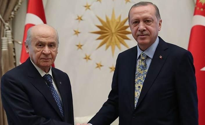 Erdoğan'dan Bahçeli'ye telefon