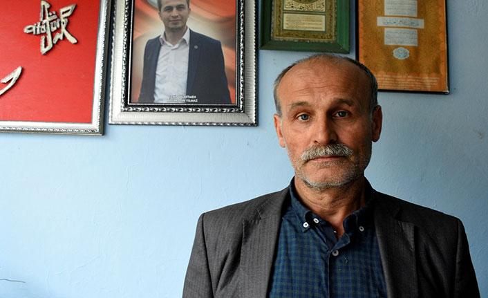 Şehit Necmettin öğretmenin ailesinden Diyarbakır'daki ailelere destek