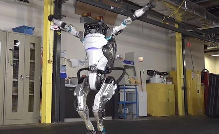 'En dinamik insansı robot' yeni özellikleriyle daha çevik