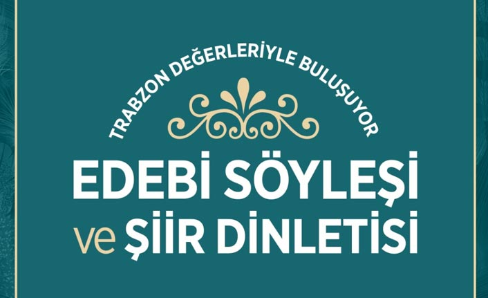 Türkiye Yazarlar Birliği üyeleri Trabzon'da buluşacak