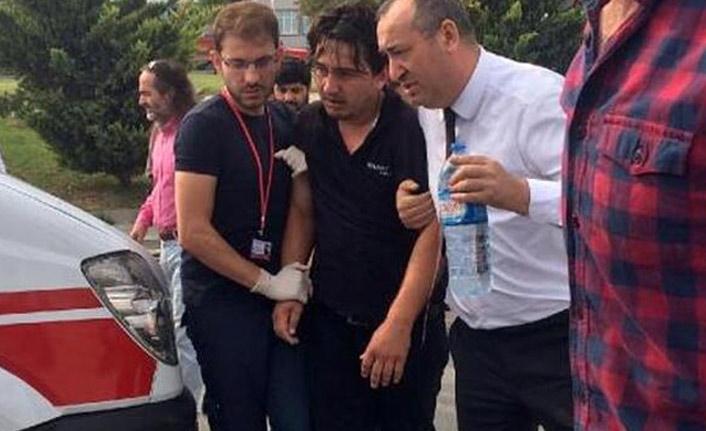 Bursa'da feci kaza! Dili boğazına kaçtı
