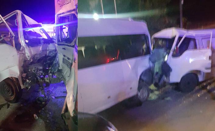 Rize'de trafik kazası!