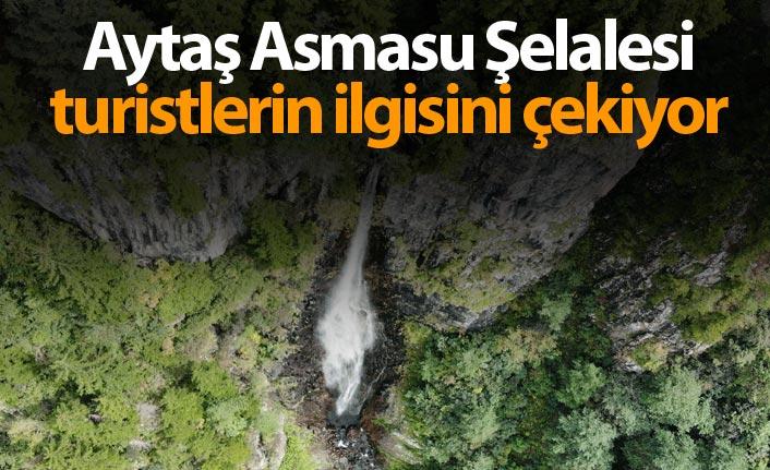 Aytaş Asmasu Şelalesi turistlerin ilgisini çekiyor