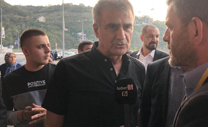 Güneş: Trabzonspor Beşiktaş maçları hareketli geçiyor