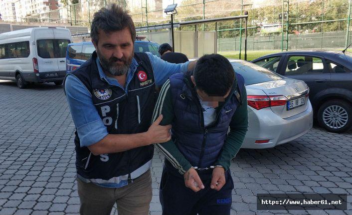 Baba oğul uyuşturucu ticaretinden gözaltına alındı