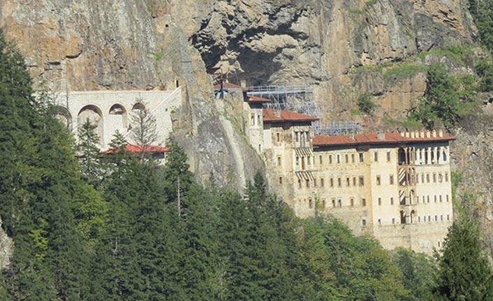 Sümela Manastırı'nda 2. etaba geçildi