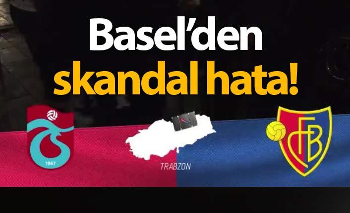 Basel'den skandal hata!