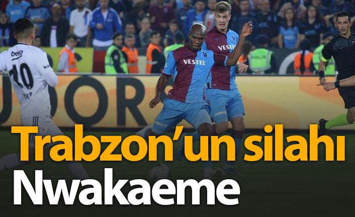 Trabzonspor'un silahı Nwakaeme