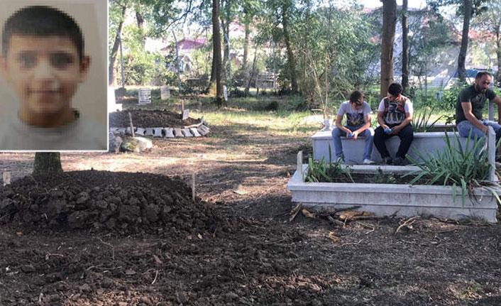 9 yaşındaki çocuk mezarlıkta intihar etti