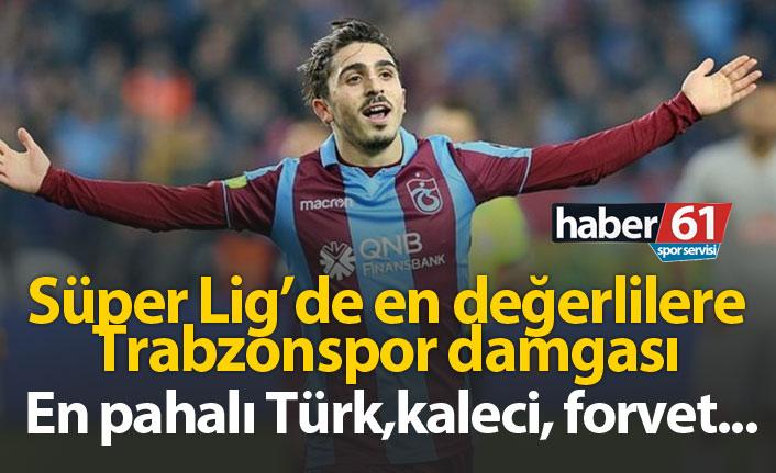 Süper Lig'de en değerlilere Trabzonspor damgası!