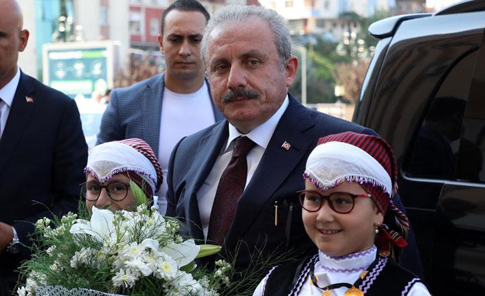 TBMM Başkanı Mustafa Şentop, Rize'de