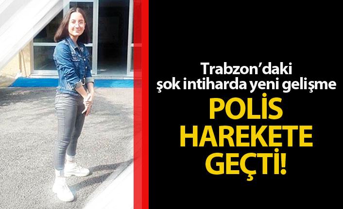Trabzon'daki şok intiharda yeni gelişme