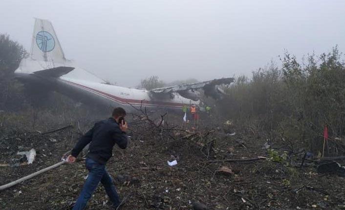 Ukrayna'daki uçak kazasında 5 kişi öldü