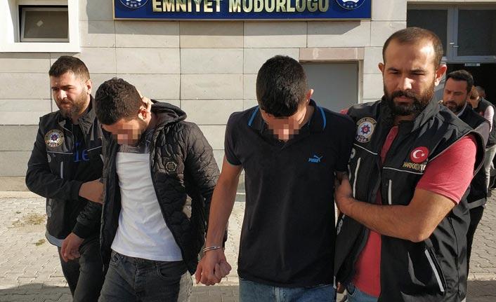 Uyuşturucu ticaretinden 8 kişi adliyeye sevk edildi