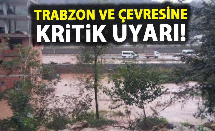 Pazar günü plan yapanlar dikkat! Trabzon ve çevresine kritik uyarı!