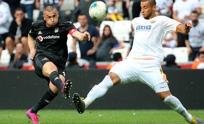 Beşiktaş Alanyaspor'u yendi