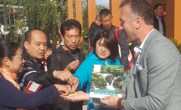 Giresun'dan Çin'de tanıtım atağı