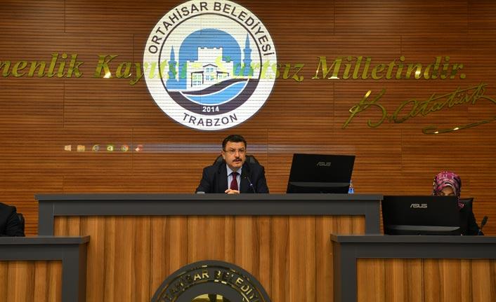 Ortahisar'ın 2020 Yılı Gelir Tarifesi kabul edildi