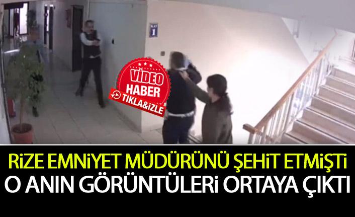 Rize Emniyet Müdürü'nü şehit eden polis böyle yakalanmış
