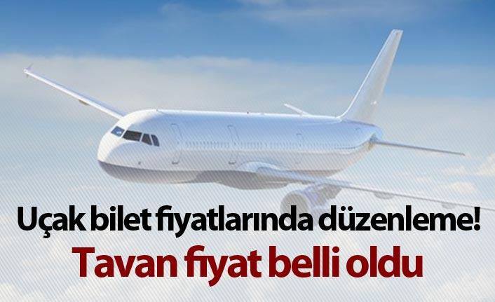 Uçak bilet fiyatlarında düzenleme! tavan fiyat belli oldu