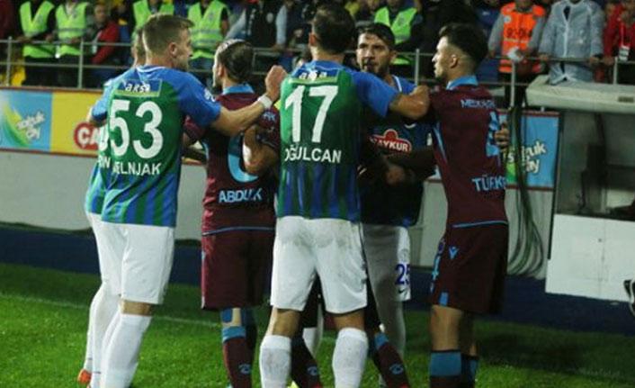 Trabzonspor ve Rizespor PFDK'ya sevkedildi