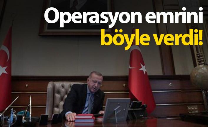 Cumhurbaşkanı Erdoğan emri böyle verdi!